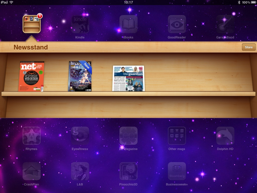 This is how .net looks on your Newsstand