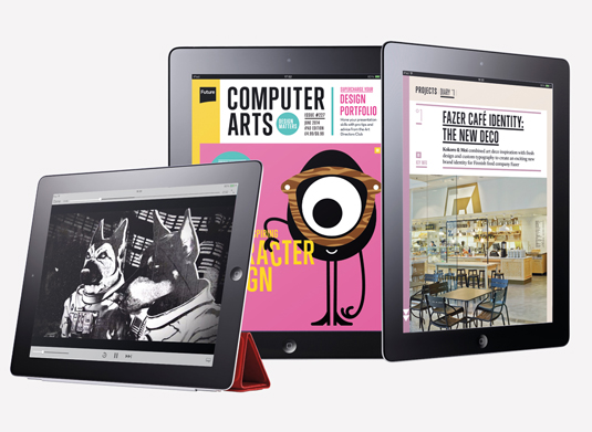The award-winning iPad edition of Computer Arts