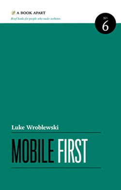 Web design books: Mobile first