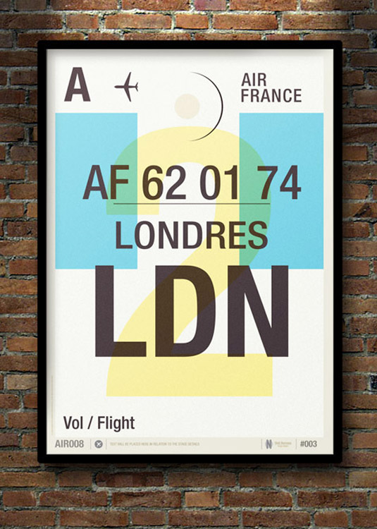 Travel posters - London