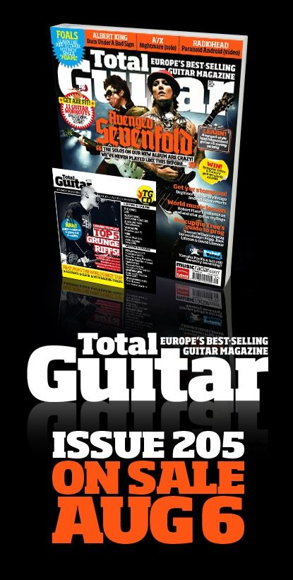 tg205 avenged sevenfold cover musicradar. Black Bedroom Furniture Sets. Home Design Ideas