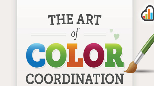 Colour coordination infographic