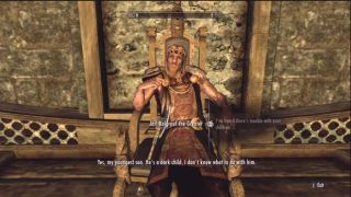 how to start the quest with jarl balgruufs son