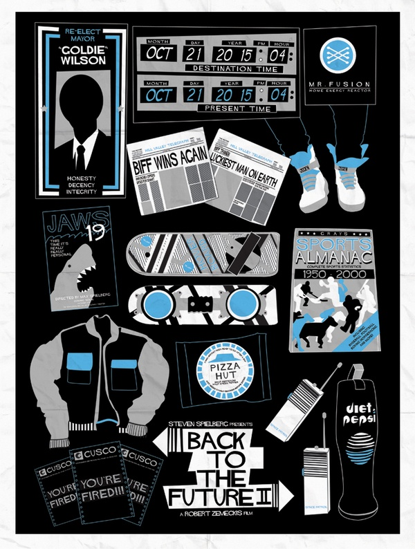 Dave Williams - Back To The Future posters