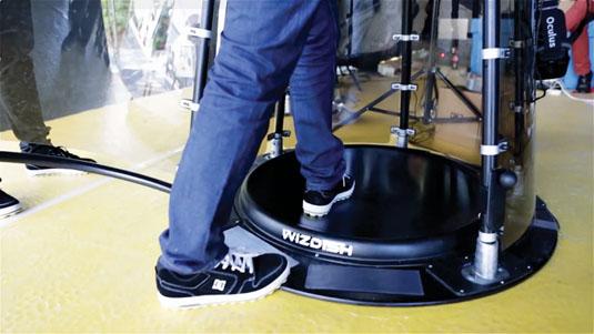 UX of VR: WizDish