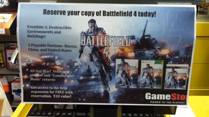 Battlefield 4 promo codes - Robosapien x reviews