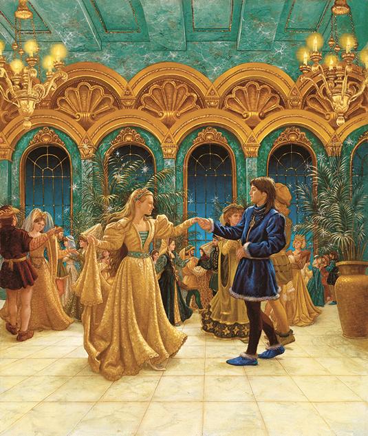 Ruth Sanderson fairytale