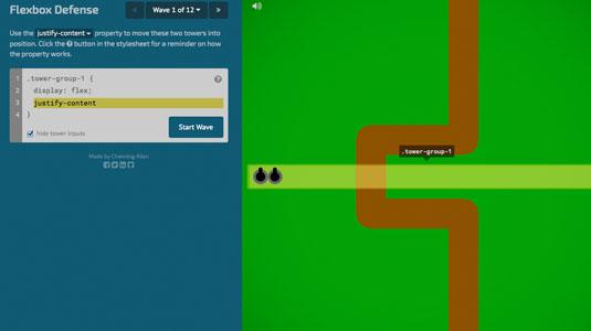 web design tools: flexbox