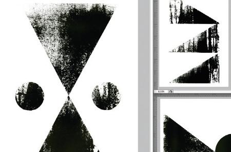 Screen-printing textures