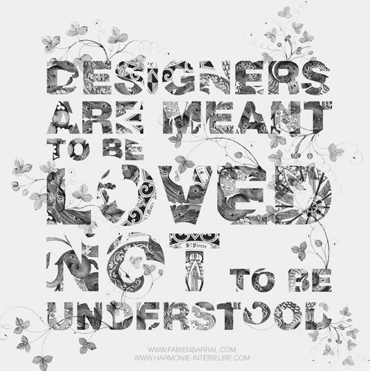 Typography wallpapers: Designers are meant to be loved
