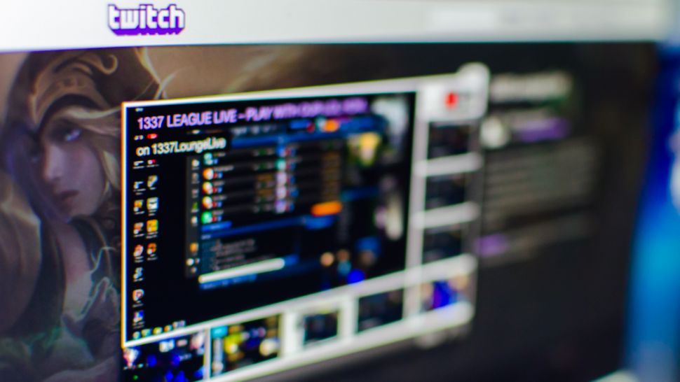 An image of Twitch being used on a computer screen