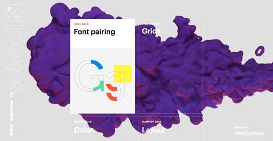 R/m Design School homepage