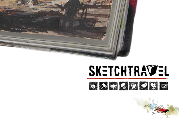 Sketchtravel is more than a sketchbook
