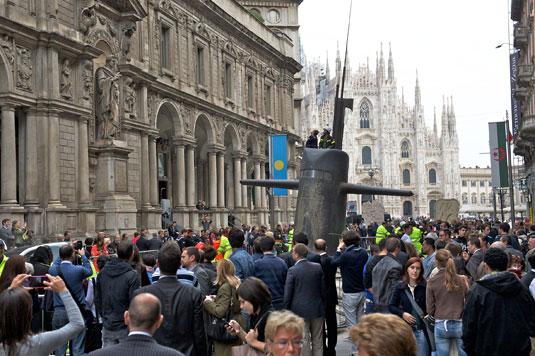 M&C Saatchi submarine