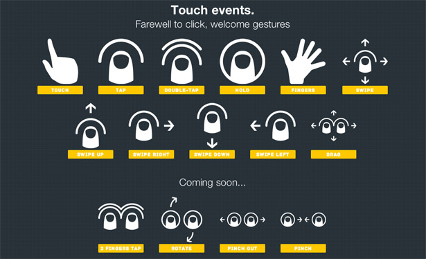 Once QUOjs has a comprehensive range of gestures at its disposal, it will be first-rate