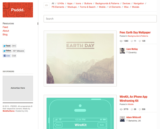 psddd homepage