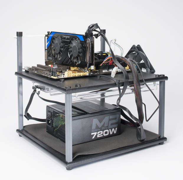 How To Build A Computer Test Bench Pc Gamer