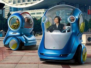 gm announces electric segway car mash up techradar. Black Bedroom Furniture Sets. Home Design Ideas