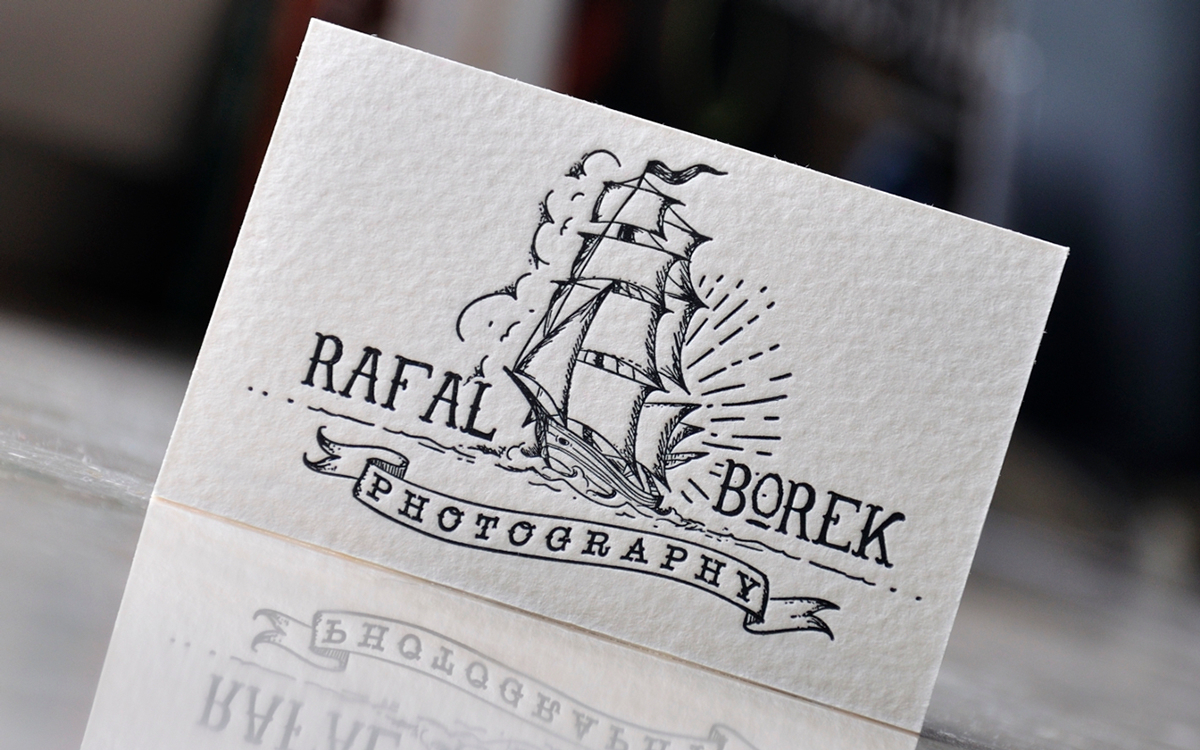 Letterpress business cards: Letter & Press