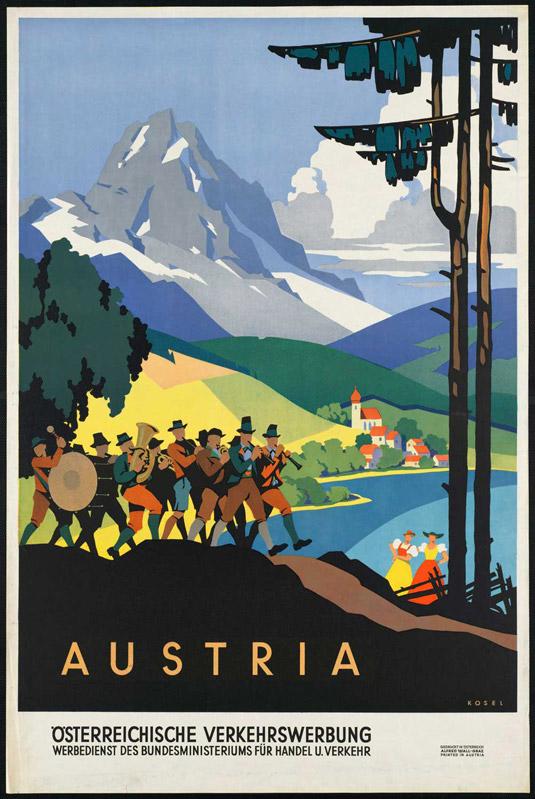 Vintage posters - Austria