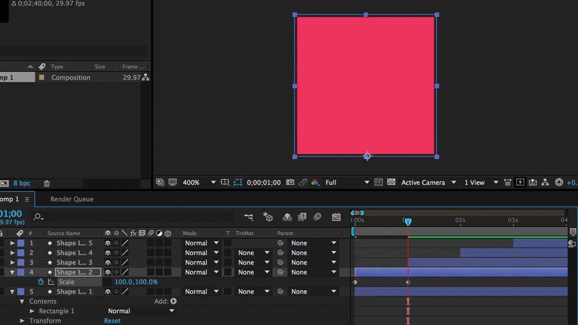 Design a branded loading animation: Another keyframe