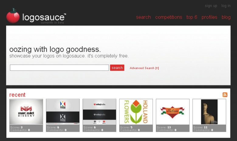 LogoSauce enables budding designers to compete to win jobs