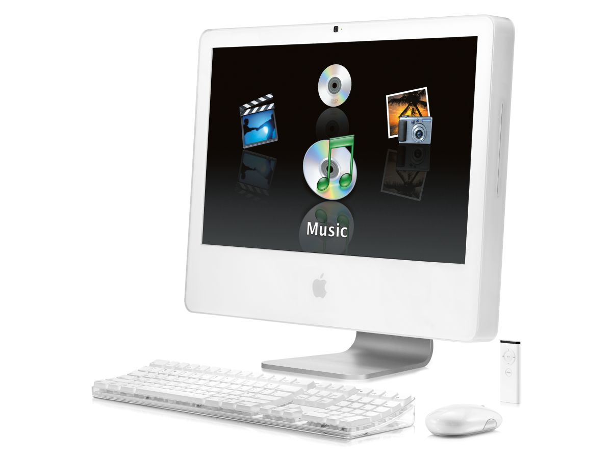 apple 24 inch imac core 2 duo review techradar. Black Bedroom Furniture Sets. Home Design Ideas