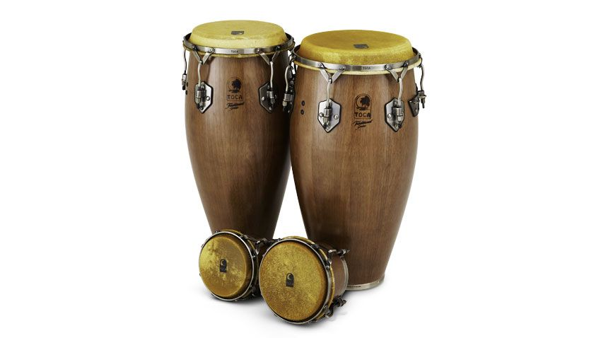 toca traditional series congas and bongos review musicradar. Black Bedroom Furniture Sets. Home Design Ideas