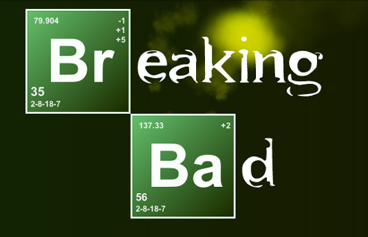 CSS3 images: Breaking Bad Title Card