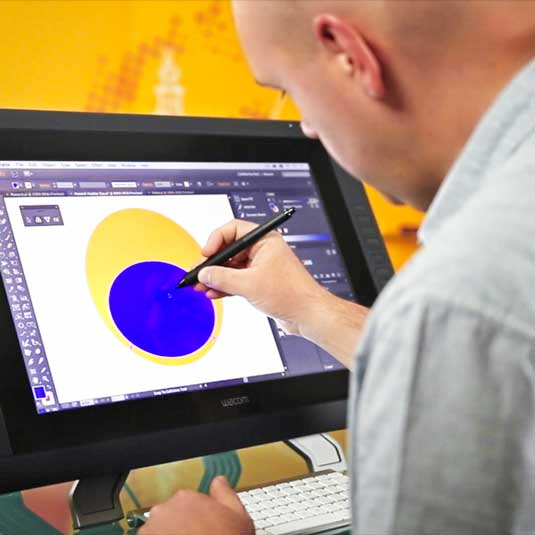 Using Illustrator on Wacom