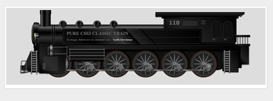 CSS3 images: Train