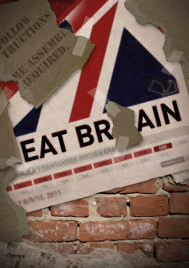 EatBrain by Ashraf Ghori