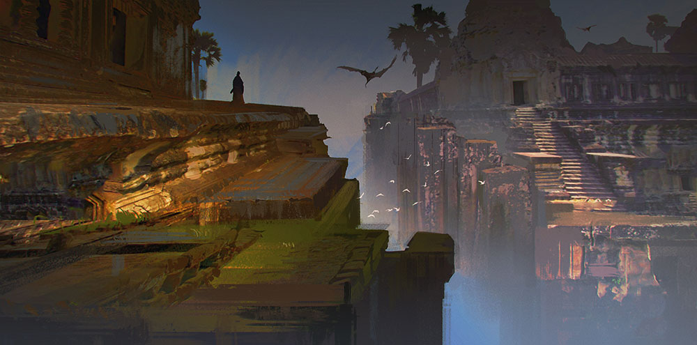 How to become a better concept artist - Stay in touch with the lighting department