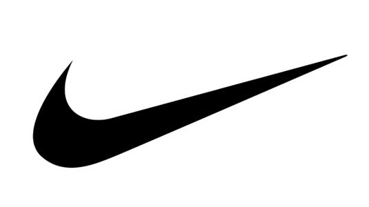 Logo shapes: Nike Swoosh