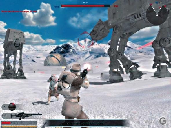 скачать игру Star Wars Battlefront 2004 - фото 4