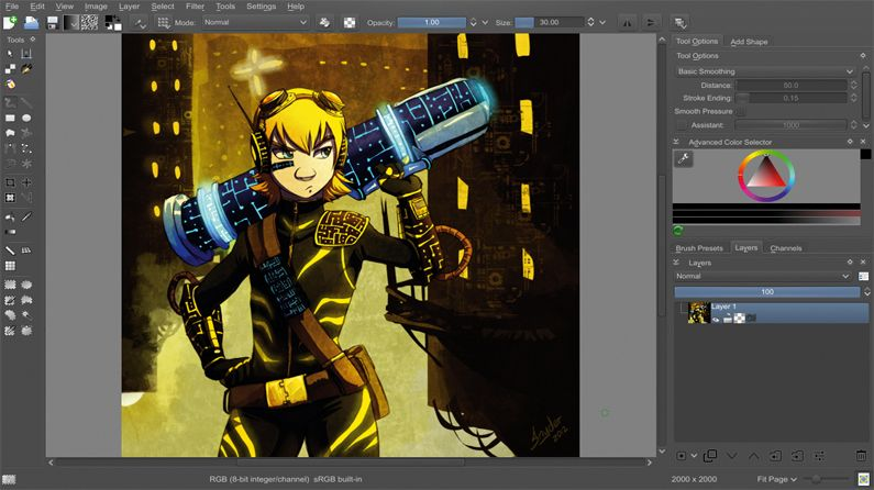 Paint Like A Pro With Free Digital Art Software Creative