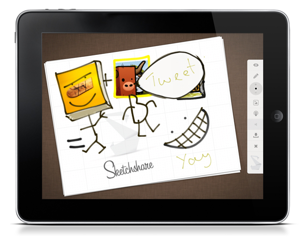 Example of Sketchshare in use