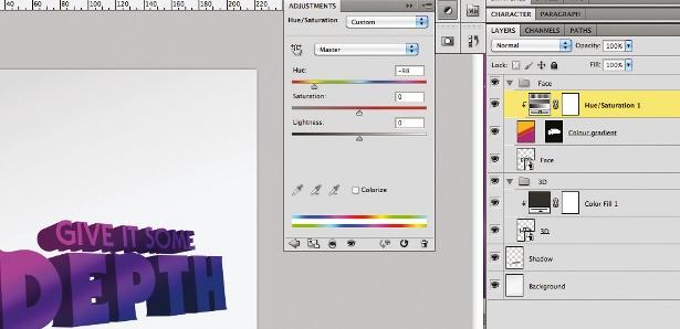 3D type: step 7