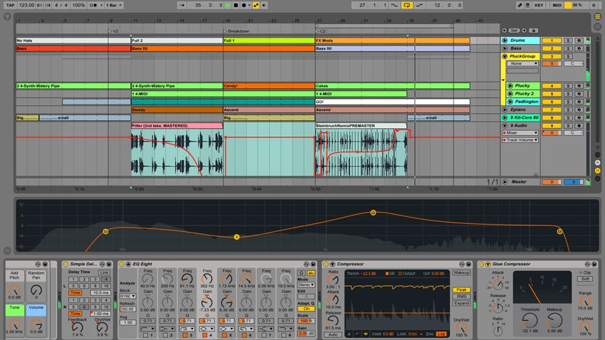 hands on with ableton live 9 effects part one musicradar. Black Bedroom Furniture Sets. Home Design Ideas