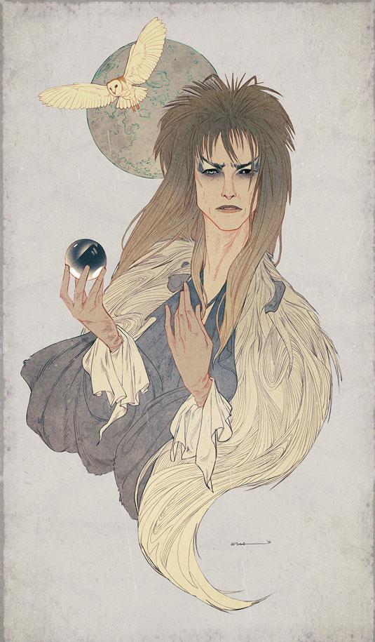 Samantha Hogg goblin king Bowie