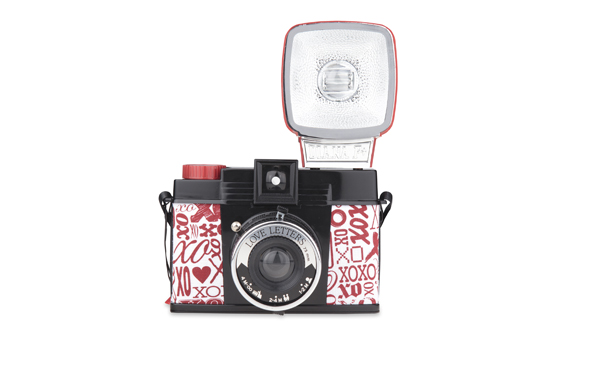 Lomography Valentines 2013 Edition Diana F+ Loveletters camera