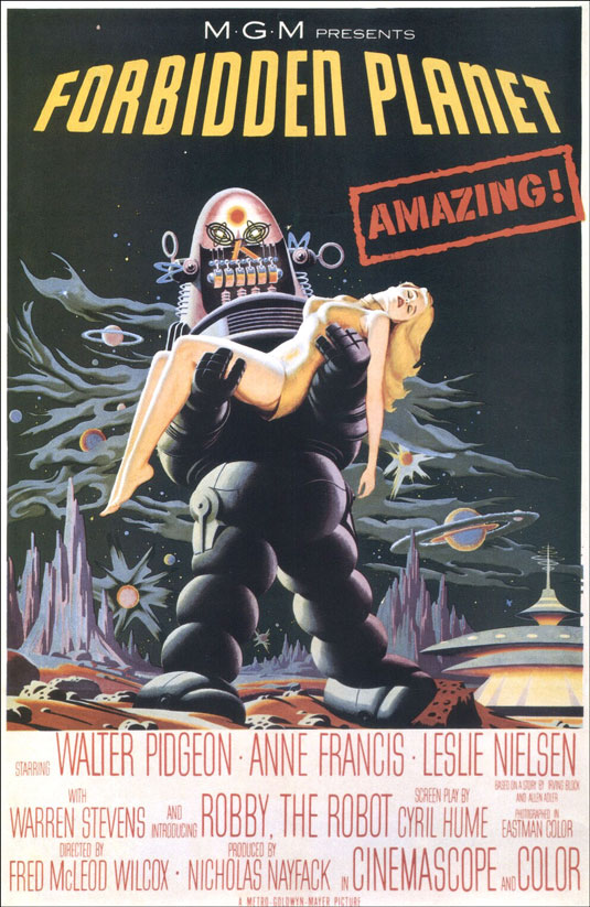 Movie posters: Forbidden Planet