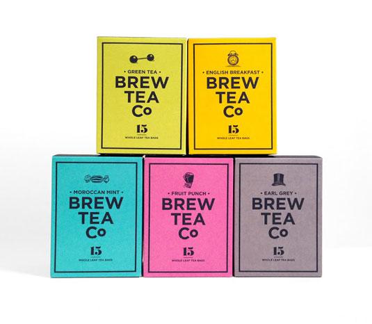 brew tea packaging