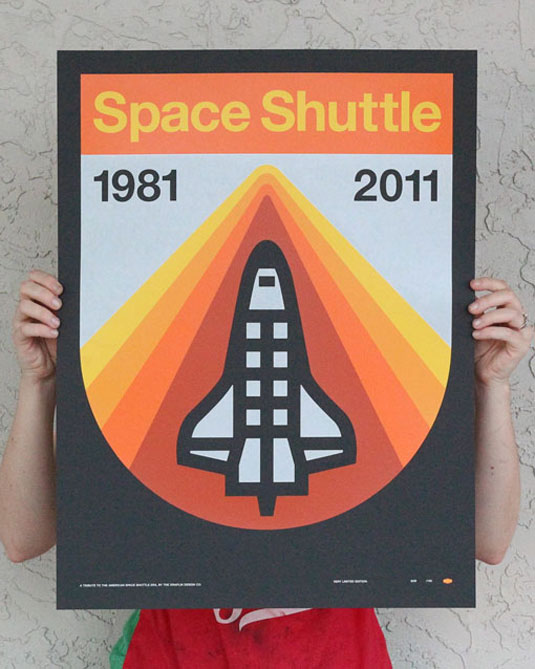 retro space posters