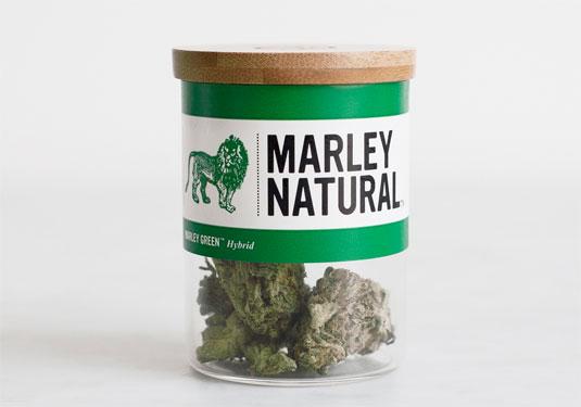 Cannabis branding: Marley Natural