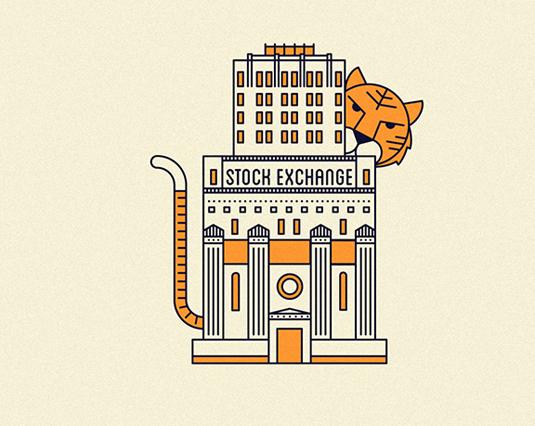 Line Art Joy : Simple line art illustrations are a minimal joy creative