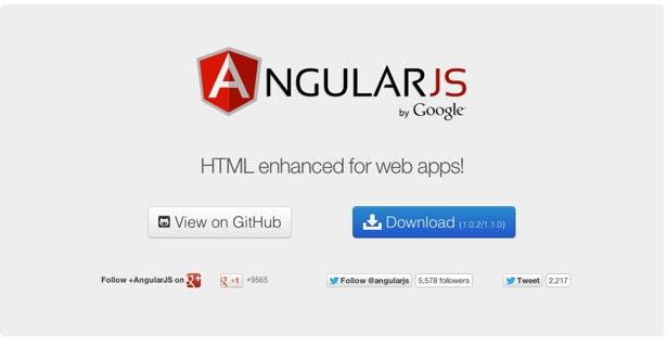 MVC framework: Angular.js