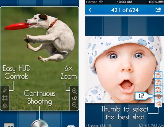 SnappyCam app