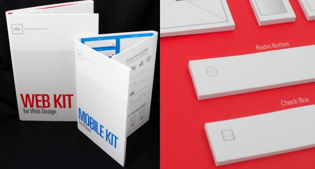 paper prototyping UXPin kit