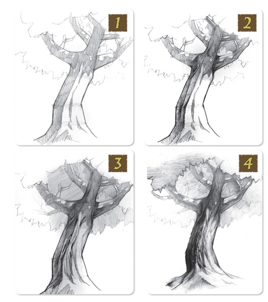 Draw Like A Boss trees